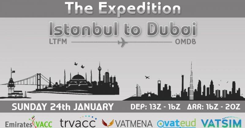 The Expedition Istanbul-Dubai